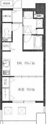 ライオンズシティ恵比寿 / 4階 部屋画像1