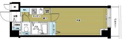 トーシンフェニックス日本橋兜町弐番館 / 7階 部屋画像1