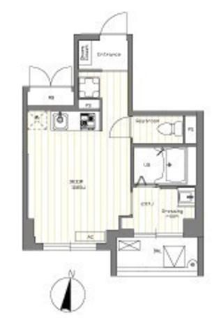 ラクレイス南品川 / 4階 部屋画像1