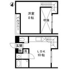 新馬場 6分マンション / 3階 部屋画像1