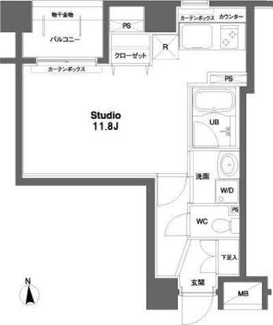 コンフォリア銀座EAST / 4階 部屋画像1