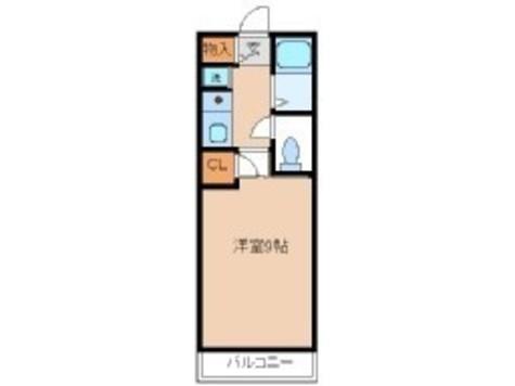 代々木パークハイツ / 206 部屋画像1