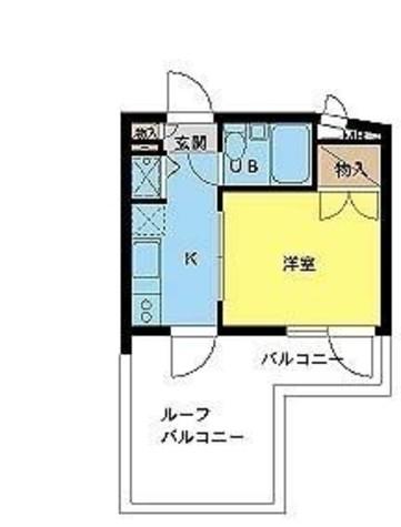 スカイコート目黒 / 4階 部屋画像1