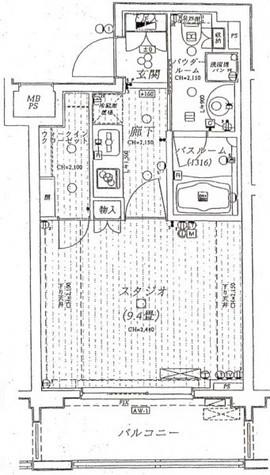日神デュオステージ上北沢 / 2階 部屋画像1