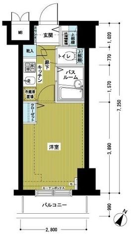 トーシンフェニックス初台弐番館 / 6階 部屋画像1
