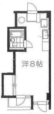 カサビアンカ松涛 / 206 部屋画像1