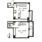 コリーヌ平町 (平町2) / 202 部屋画像1
