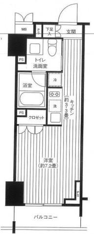 レジディア渋谷 / 1003 部屋画像1