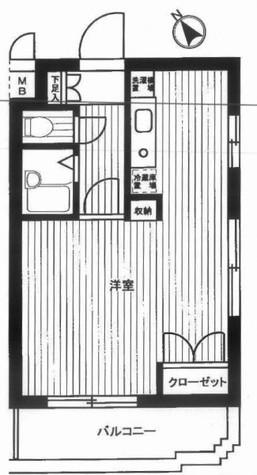 ルーブル西五反田 / 13階 部屋画像1
