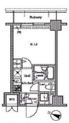レジディア広尾Ⅱ / 406 部屋画像1