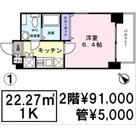 Human Heim月島(ヒューマンハイム月島) / 202 部屋画像1