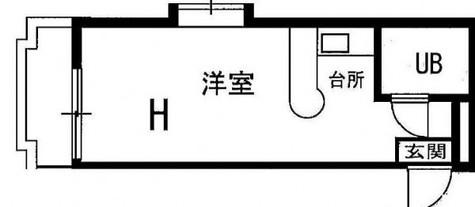 レジダンスイン・目黒 / 3階 部屋画像1