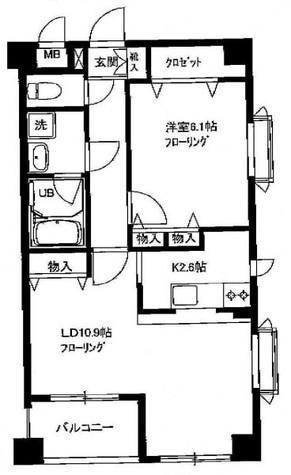 下目黒テラス / 2階 部屋画像1
