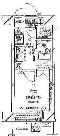 コンシェリア久が原 / 6階 部屋画像1