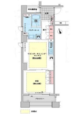 ネクステージレジデンス中央湊 / 5階 部屋画像1