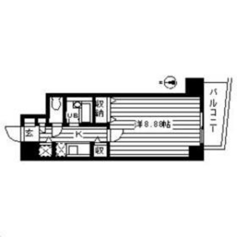ルート幡ヶ谷 / 10階 部屋画像1