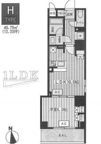 ファインアドレス新御徒町 / 5階 部屋画像1