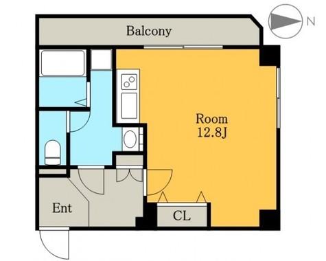 メイフェアハウス三田 / 5階 部屋画像1