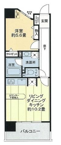 ライオンズシティ御茶ノ水 / 6階 部屋画像1