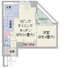 アクロス日本橋人形町 / 402 部屋画像1