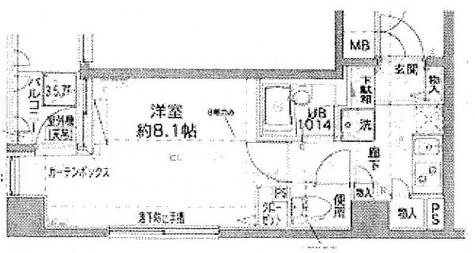 アーバイル神田EAST / 4階 部屋画像1