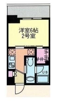 門前仲町レジデンス弐番館 / 9階 部屋画像1