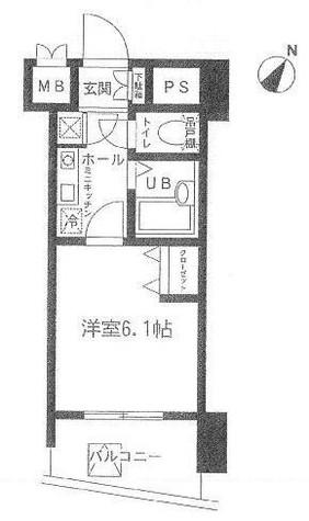 エクセリア代々木 / 3階 部屋画像1