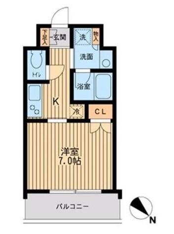 パークフラッツ渋谷代官山 / 2階 部屋画像1