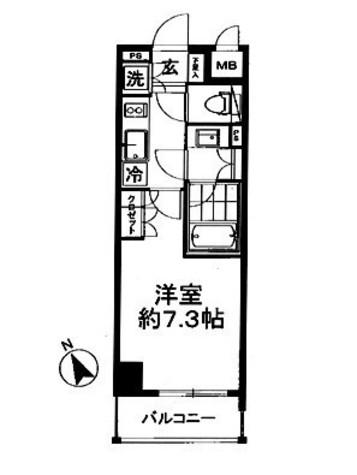 グランスイート東京 / 5階 部屋画像1