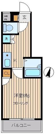 パレ・ホームズ目黒 / 4階 部屋画像1