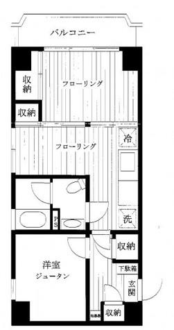 ライオンズマンション目黒(日生ハイツ) / 201 部屋画像1