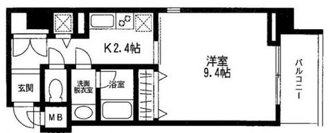 四番町セントラルシティハウス / 5階 部屋画像1