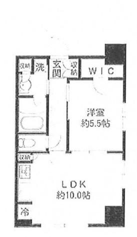 MFPTコート木場公園 (旧エコロジー木場公園プロセンチュリー) / 12階 部屋画像1