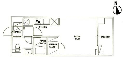 レジディア大井町Ⅱ(旧パシフィックレジデンス大井町Ⅰ) / 403 部屋画像1