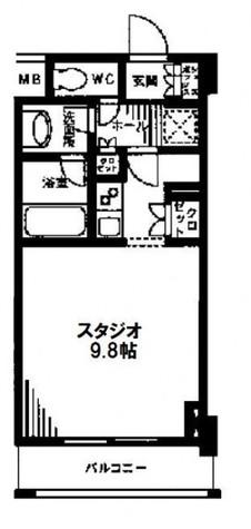 レジディア九段下 / 5階 部屋画像1