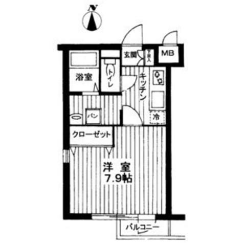 ヴェルト武蔵小杉EAST / 2階 部屋画像1