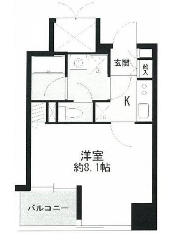 ヴェルステージ秋葉原Ⅱ / 8階 部屋画像1