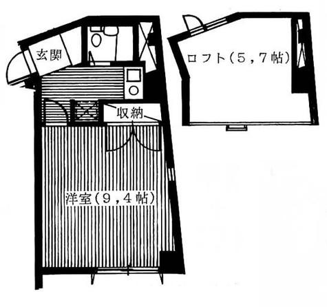 アーバンヒル恵比寿 / 3階 部屋画像1