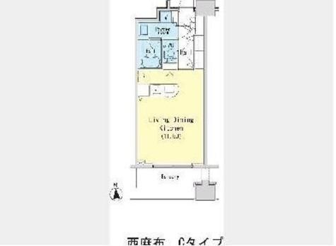 レジディア西麻布 / 710 部屋画像1