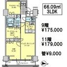 辰巳 11分マンション / 9階 部屋画像1