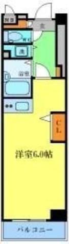 カスタリア新宿 / 8階 部屋画像1