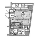 アプレシティ日本橋蛎殻町 / 802 部屋画像1