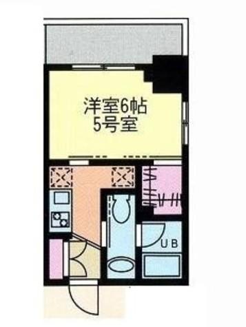 門前仲町レジデンス弐番館 / 605 部屋画像1