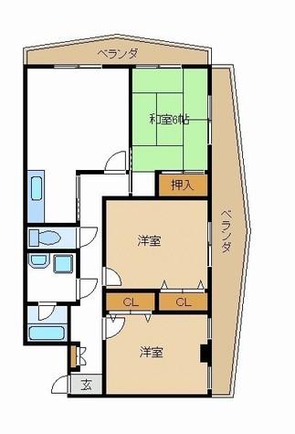 第一浜傳コーポ / 203 部屋画像1