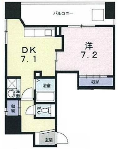 メゾン日本橋浜町 / 4階 部屋画像1