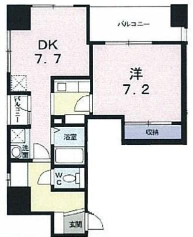 メゾン日本橋浜町 / 5階 部屋画像1