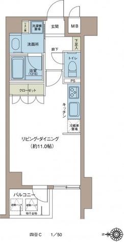 リエトコート四谷 / 503 部屋画像1