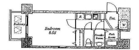 ガーラプレイス新宿御苑 / 11階 部屋画像1