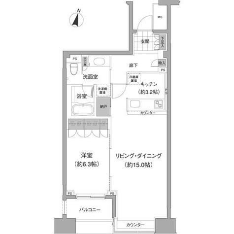 アビティ目黒 / 8階 部屋画像1