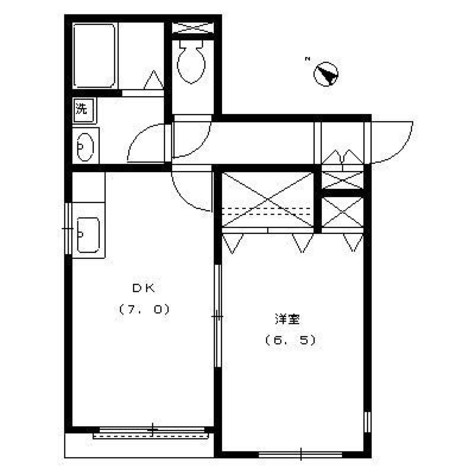 コリーヌ西参道 / 1階 部屋画像1